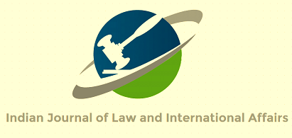 Indian Journal Law international affairs Vol 3 Issue 1