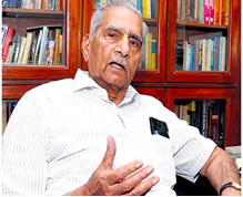 Internship Experience @ Shanti Bhushan, Former Minister of Law and Justice, Senior Advocate, Delhi
