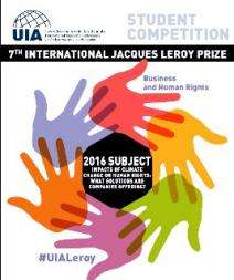 7th International Jacques Leroy Prize – Business and Human Rights