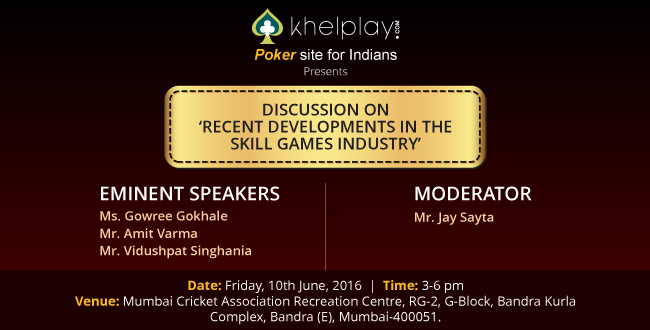 Khelplay.com's Seminar for Skill Games Industry and Players