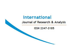 Call for Papers: International Journal of Research and Analysis [Volume 4 Issue 4]