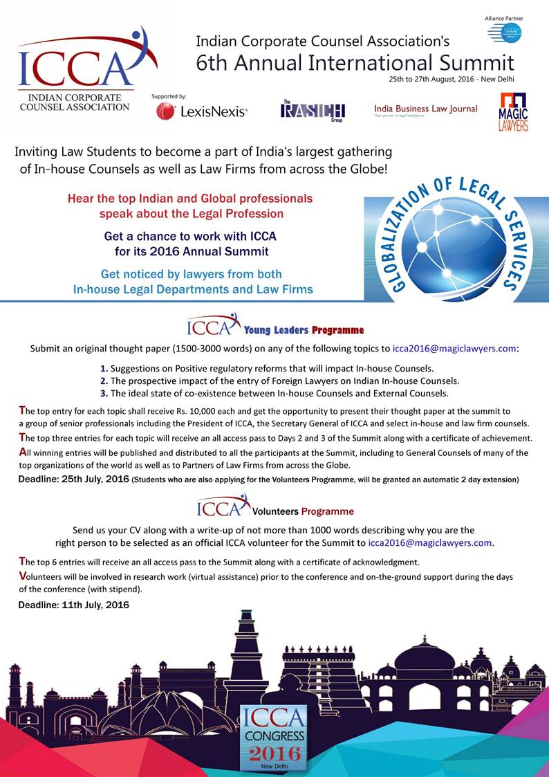 ICCA's Annual International Summit