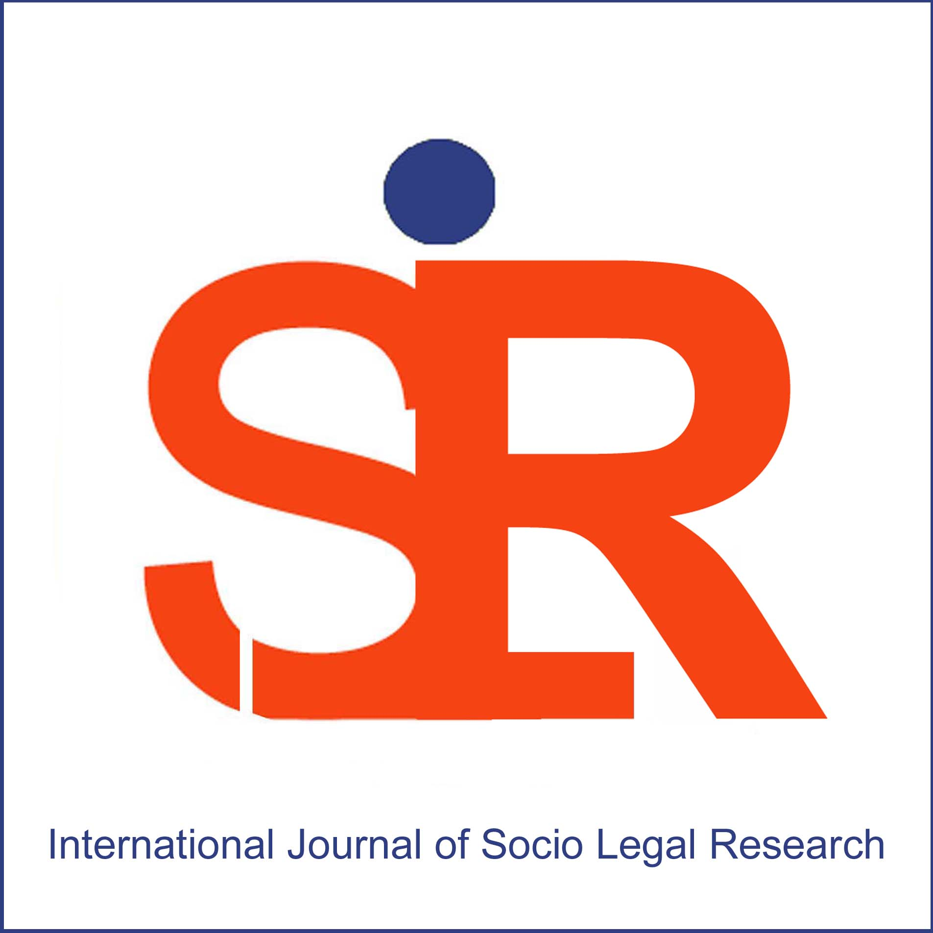 International Journal of Socio-Legal Research Nov 2019