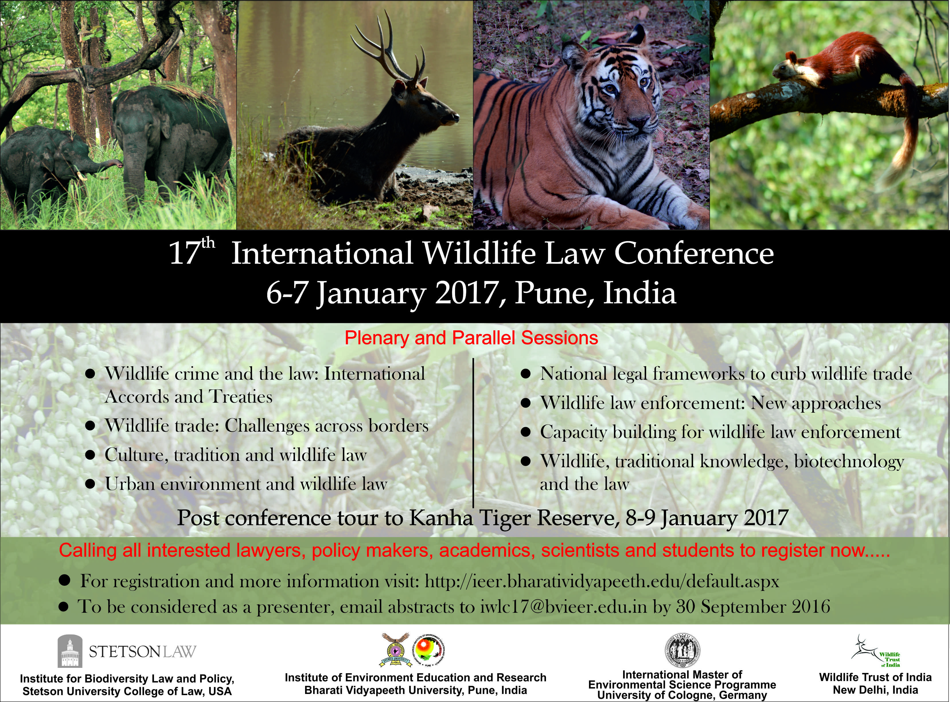 17th International Wildlife Law Conference