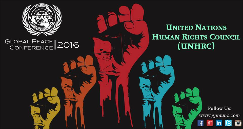 2nd Global Peace MUN Conference 2016