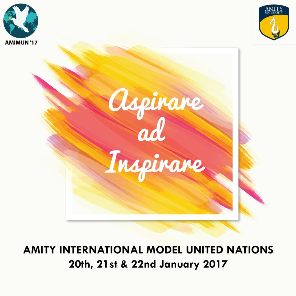 Amity University Model United Nations AMIMUN 2017