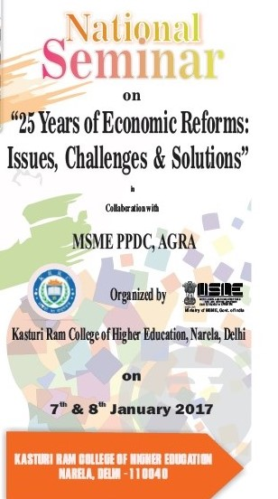 Call for Papers: KRCHE National Seminar on 25 years of Economics Reform