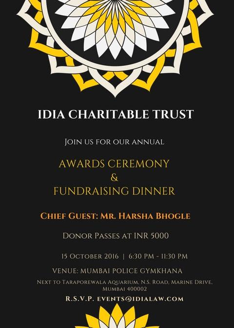 IDIA Awards Ceremony & Fundraising Night
