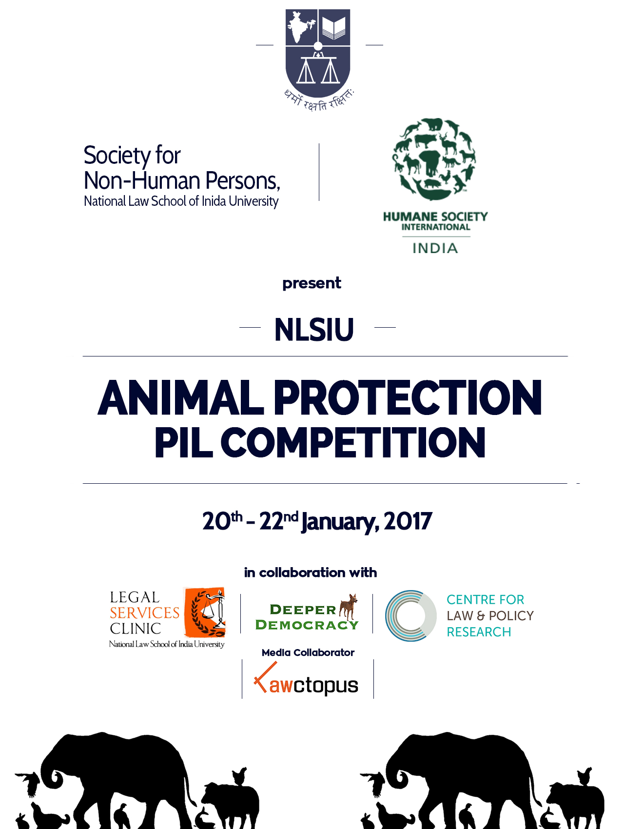 NLSIU Animal Protection PIL Competition