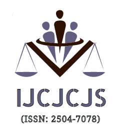 Call for Papers: International Journal of Criminal Jurisprudence and Criminal Justice System