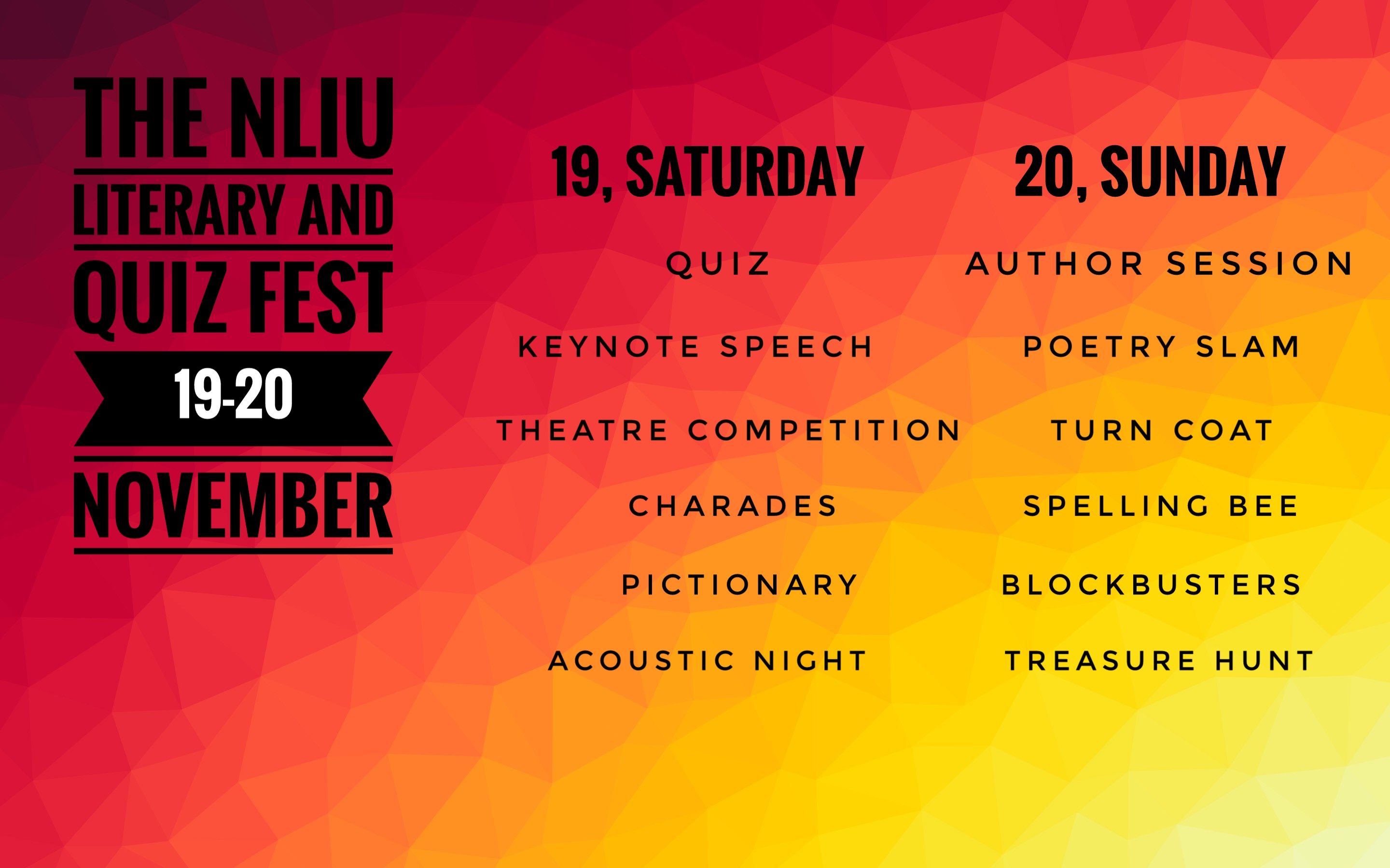 NLIU Literary and Quiz Fest 2016 Jus Cultura