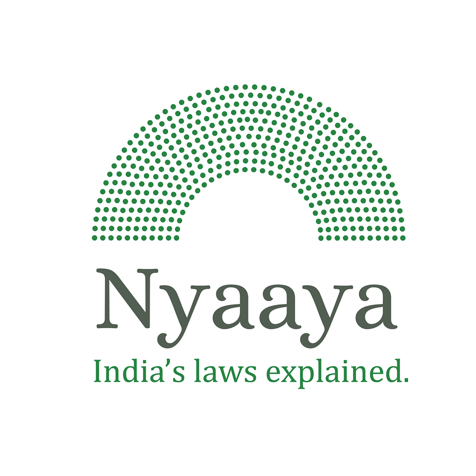 <b>Nyaaya.in Has Been Launched and It's WOW! </b> See What Law + Technology + Easy Language Can Do