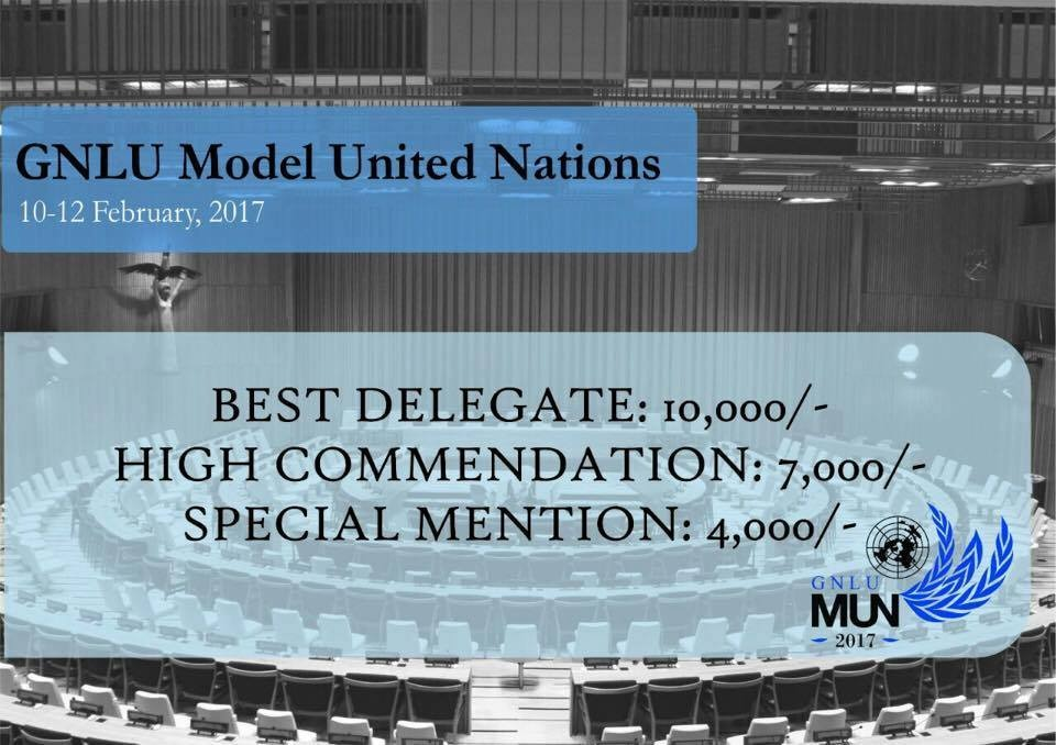 GNLU Model United Nation 2017