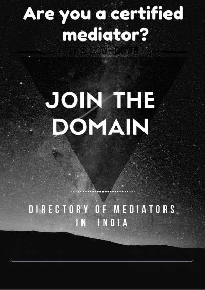 Join the Domain: One Stop Platform for Mediators in India