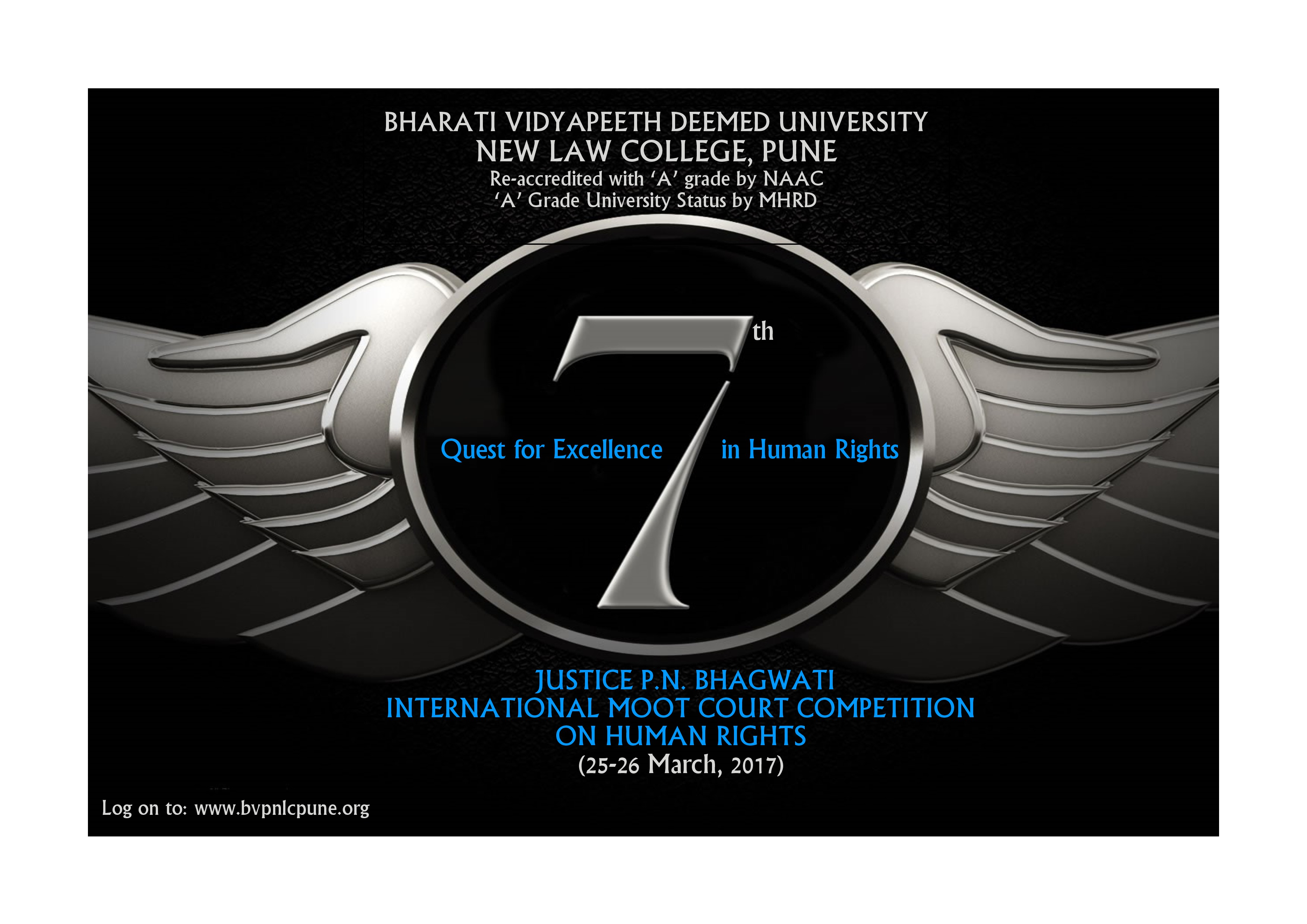 New Law College's 7th Justice PN Bhagwati International Moot Court Competition 2017