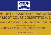 58th Philip C Jessup International Law Moot Court Competition 2017