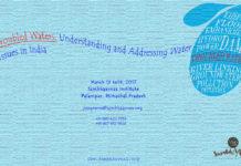 Sambhaavnaa Institute's Workshop on Troubled Waters: Understanding Water Issues in India
