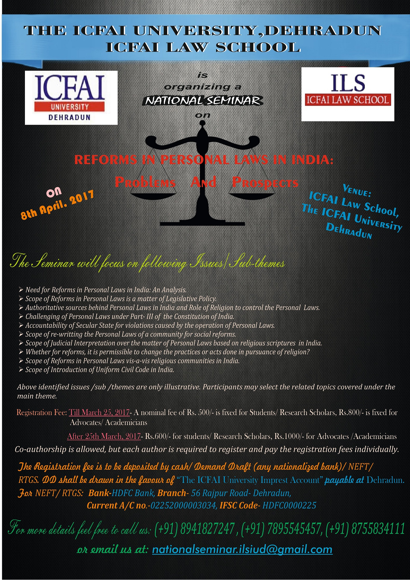 icfai research papers Call for papers: research papers/articles and case studies from legal fraternity are invited for presentation in the national call for papers | icfai law school.