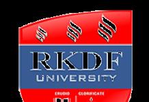 RKDF university mock parliament 2018