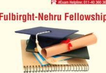 Fullbright Nehru Scholarship
