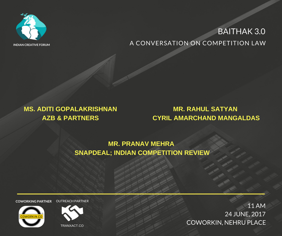 Competition Law- baithak