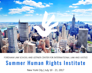 Summer Human Rights Institute