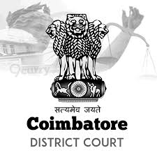Internship District Court of Coimbatore, Tamil Nadu