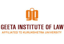 Contract Drafting workshop Geeta Institute of Law