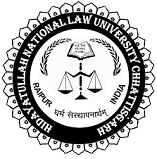 HNLU Raipur Recruitment 2018
