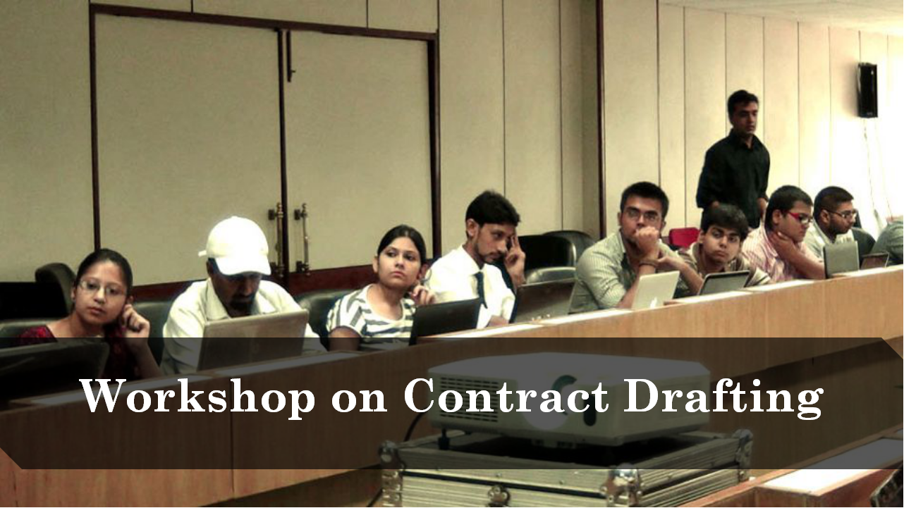 IPleaders Workshop on Drafting Commercial Contracts