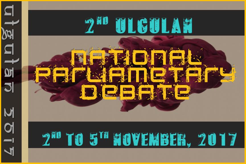 Ulgulan National Parliamentary Debate