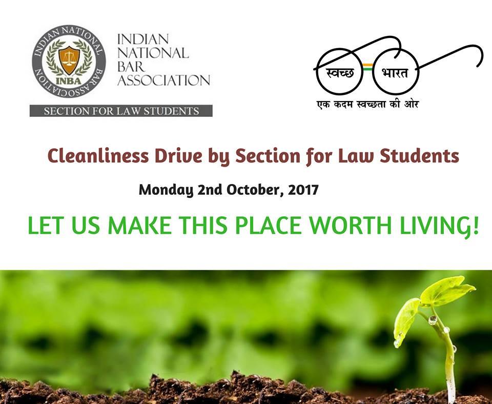 Call for Volunteers: INBA Clean India Campaign on Gandhi Jayanti [Oct 2, Delhi]: Registration Open