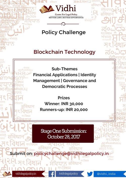 Vidhi Policy Challenge