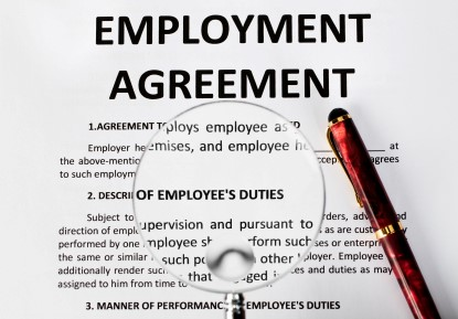 employment law draft 1 An employment contract or contract of employment is a kind  it has arisen out of the old master-servant law,  (2003) oxford university press, isbn 0-19-924926-1.