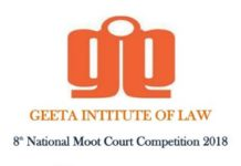 Geeta Law Institute Moot Court