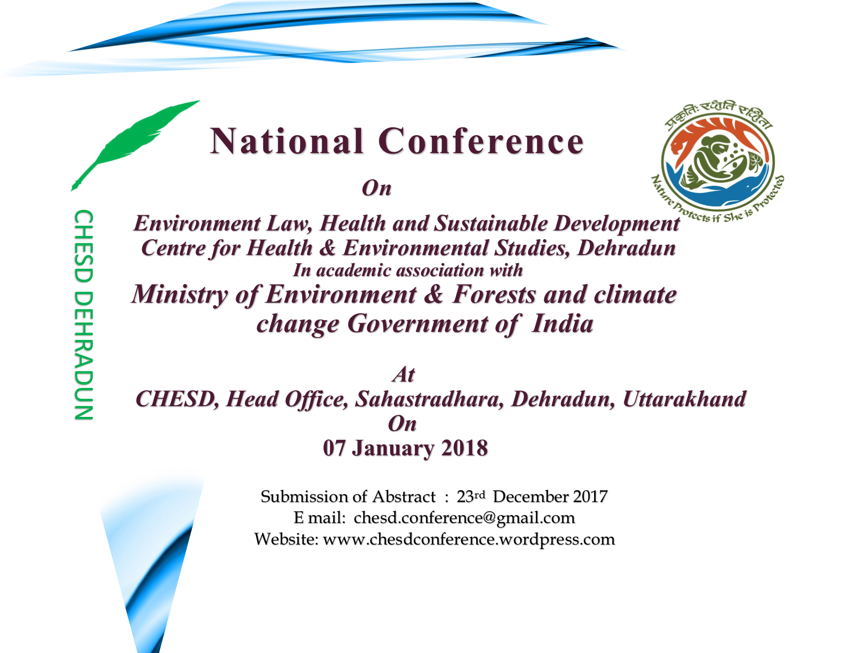 Conference Environmental Law Dehradun