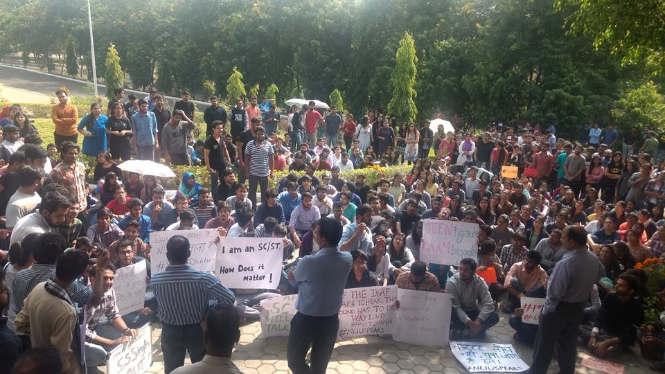 NLIU Bhopal Protests: Students' Letter Shows Biased Faculty, Heartless Admin; Video Alleges Sexism