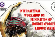 Workshop FIMT Bonded Labour Elimination