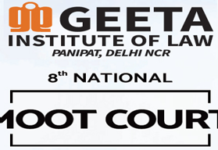 Geeta Institute Panipat Moot Court