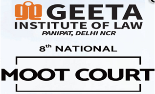 Geeta Institute Panipat Moot Court