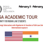 INBA Academic Tour USA Indian Law Students