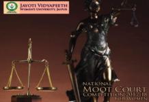 Jayoti Vidyapeeth JAipur Womens Moot