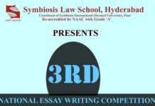 essay competitions archives lawctopus symbiosis law school hyderabad 3rd national essay writing competition 2018 prizes worth rs 10 000 submit by jan 25