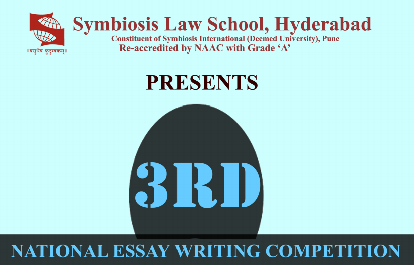 Symbiosis Law School Essay Contest