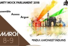Amity Noida Mock Parliament