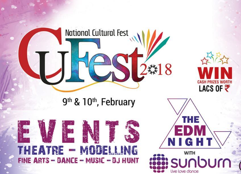 Chandigarh University National Cultural Fest 2018 [Feb 9-10, Mohali]: Register by Feb 7