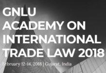 GNLU Academy International Trade Law