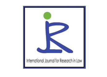 International journal for research in law july 2019