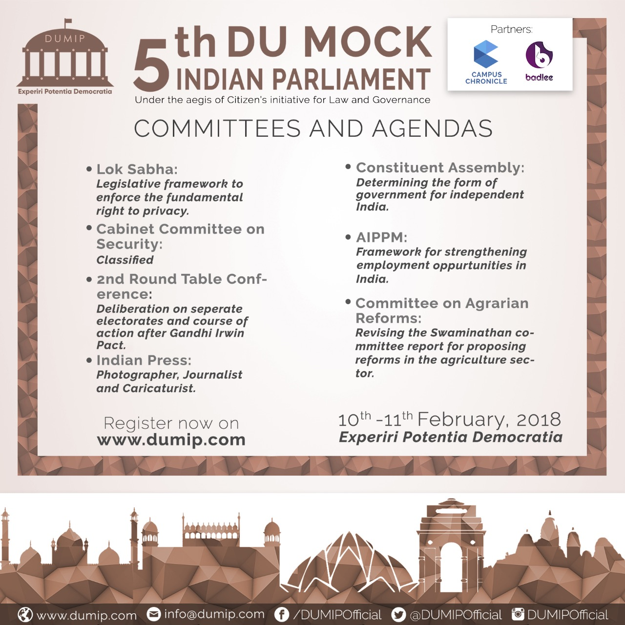 DU Mock Parliament