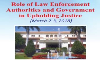 Pondicherry conference govt law enforcement agencies upholding justice
